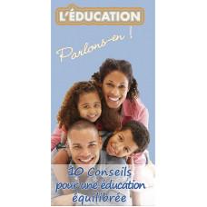 Dépliant ACSI Spécial Afrique : Dix conseils pour une éducation équilibrée (lot de 100)