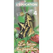 Dépliant ACSI N°4 : La leçon du papillon (lot de 100)