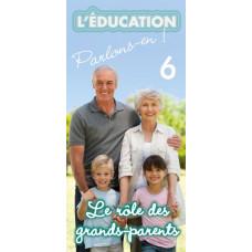Dépliant ACSI N°6 : Le rôle des grands-parents (lot de 100)