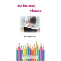 Dépliant ACSI : Une éducation véritable (lot de 100)