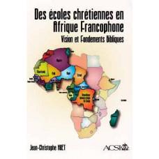 Christian Schools in Francophone Africa
