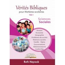 Vérités Bibliques 1 : Sciences sociales